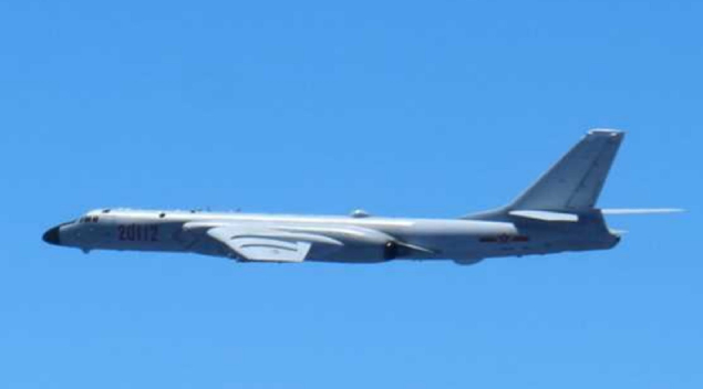 File photo: The H-6 Bomber type aircraft
