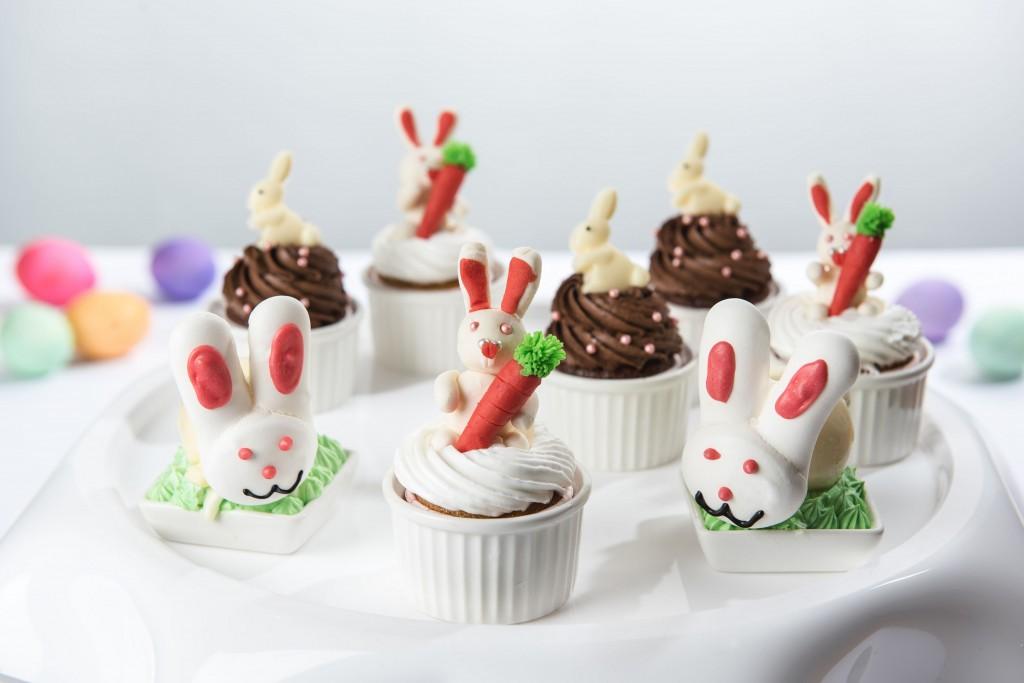 復活節造型杯子蛋糕 (圖片提供-台北松山意舍酒店)