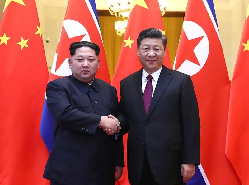 金正恩掌權後首次訪問中國(圖片/美聯社)