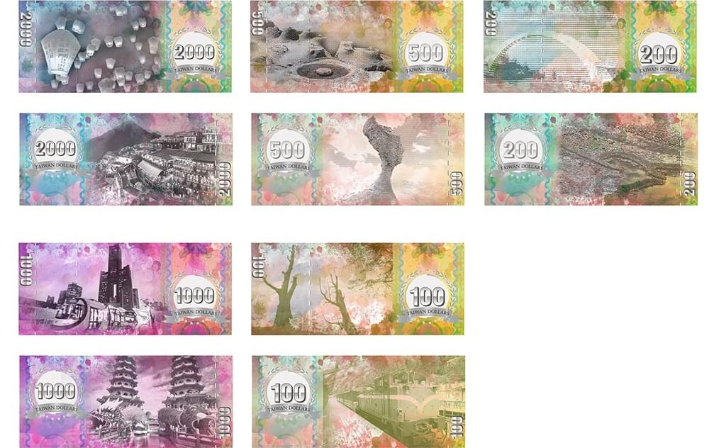 Winner of new Taiwan banknote design contest announced