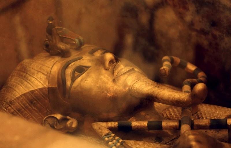 埃及法老圖坦卡門(圖片/美聯社)