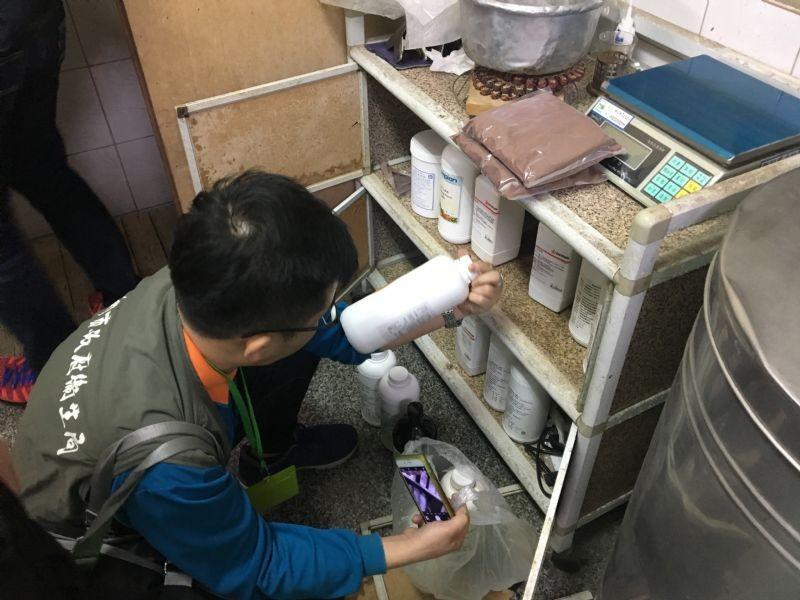 台南市政府衛生局提供。