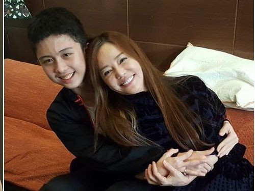 An Tso Sun and Di Ying (image from Di Ying's Facebook page).