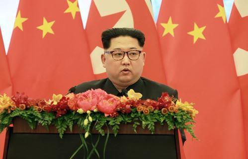北韓領袖金正恩(圖片來源:翻攝自北韓勞動新聞)