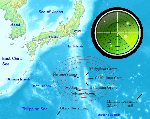 (Map from Wikimedia Commons, radar Image from Pixabay user friis)