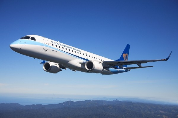 Mandarin Airlines jet.