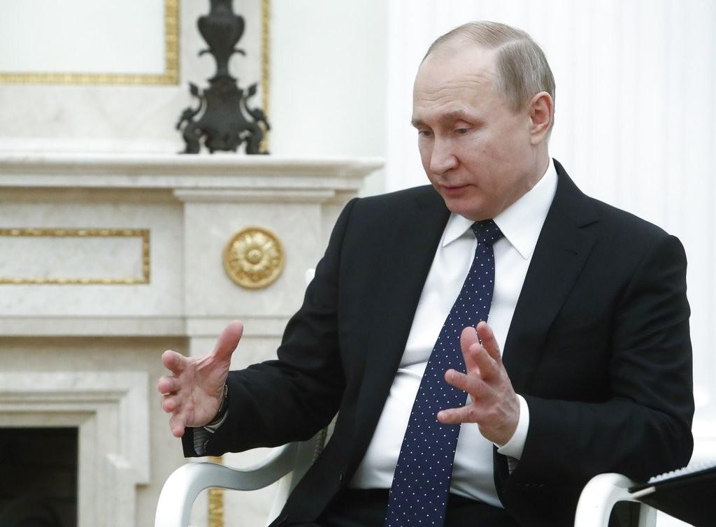 俄羅斯總統普丁(圖片來源:美聯社)