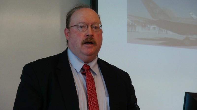 U.S. military expert Richard Fisher.