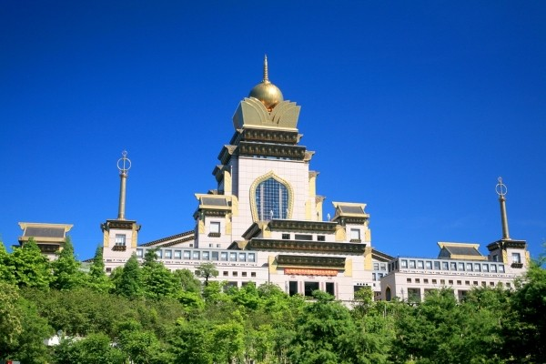 Chung Tai Chan Monastery. (Taiwan Tourism Bureau photo)