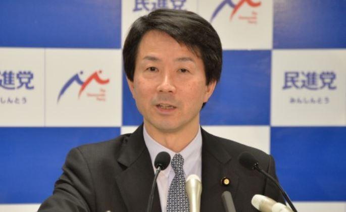 日本「民進黨」黨魁大塚耕平(圖片來源:翻攝自日本「民進黨」網站)