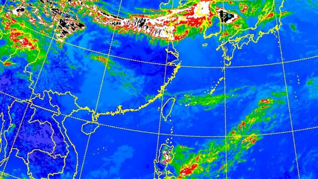 Central Weather Bureau image.