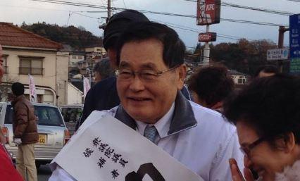龜井靜香退休前競選照片(圖片來源:翻攝自龜井靜香推特)