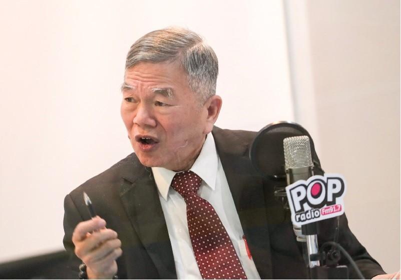 經濟部長沈榮津,10日曾就能源議題接受電台專訪。中央社