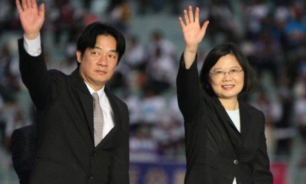 File Photo: President Tsai and Premier Lai