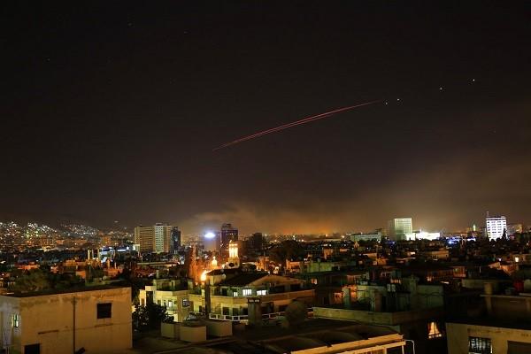 美英法於14日對敘利亞展開空襲(照片來源:美聯社)