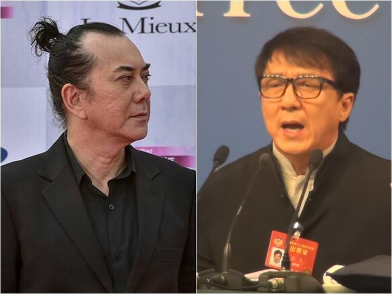 Wong (left, Weibo image), Chan (right, CNA image).