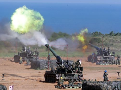 Han Kuang live fire exercise.