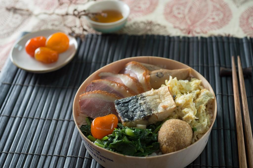 照片為臺鐵宜蘭風味便當。(照片轉載自交通部臺灣鐵路管理局)