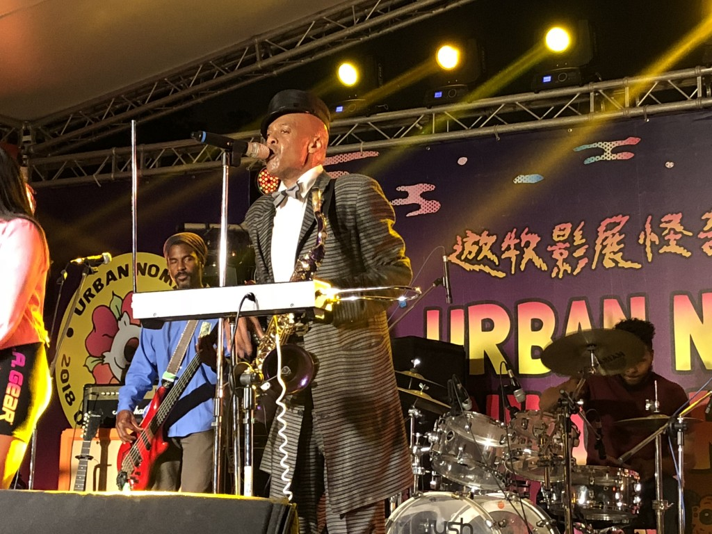 Angelo Moore of Fishbone comes to Taiwan for the first time