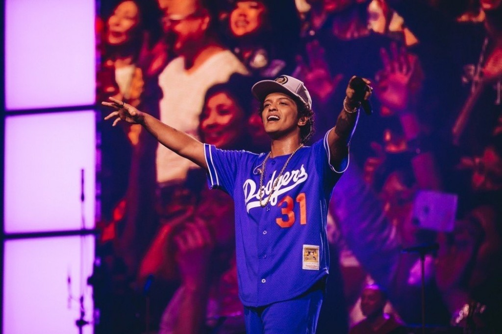 Bruno Mars. (Photo by Live Nation)