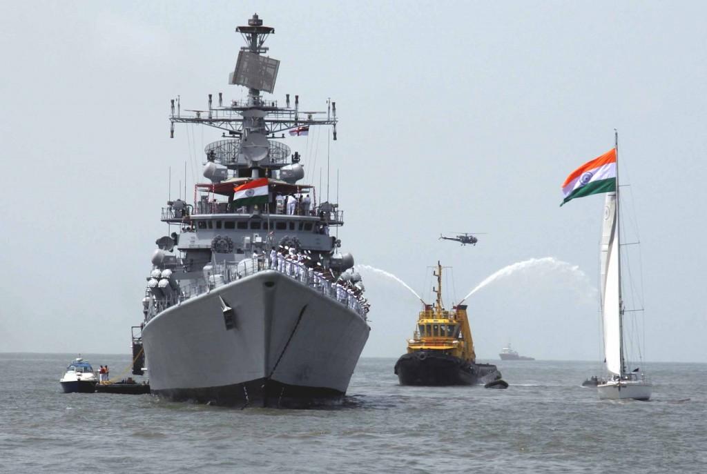 Indian Navy vessel