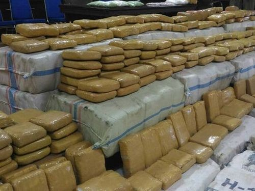 Illegal drug possession has been rising, says MOI.