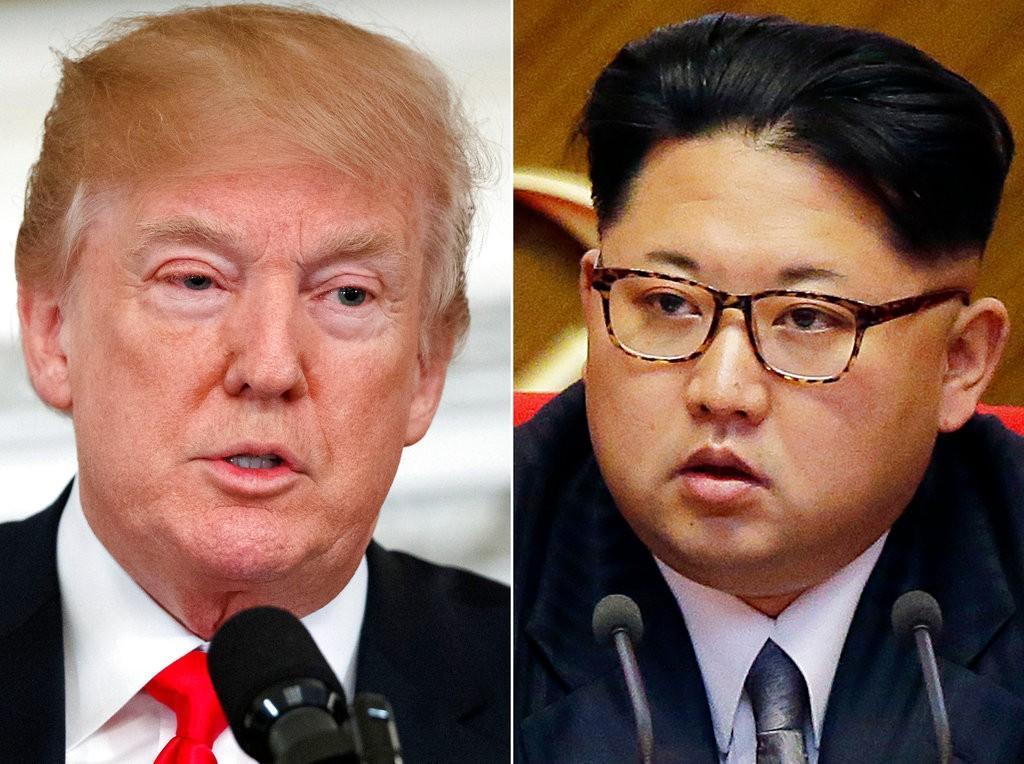 川普(左)和金正恩預計將在近日舉行高峰會,但一切恐怕還有變數(美聯社)