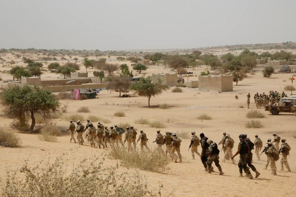 反恐部隊在西非進行訓練(美聯社)
