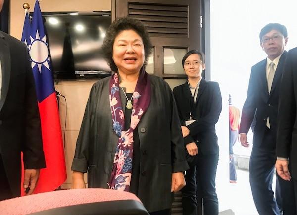 新任總統府祕書長陳菊