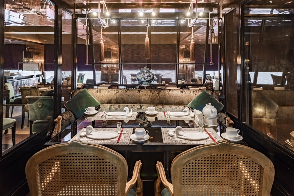 The photo shows the restaurant Le Palais, which wins 3 Michelin stars in the Michelin Guide Taipei. (Image courtesy: Le Palais)