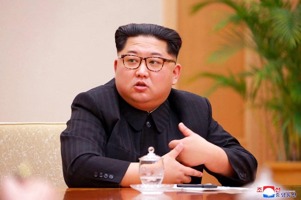 金正恩(朝鮮中央通信,美聯社提供)