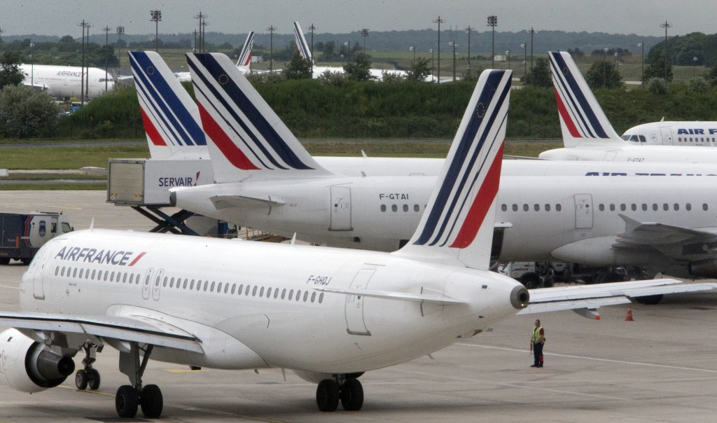 Air France strike affects flights to and from Taiwan.
