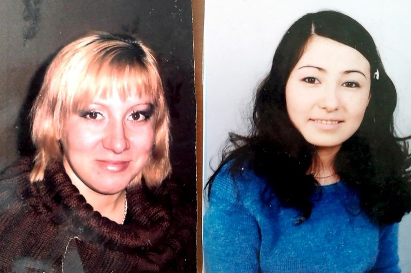 左:露西亞 右:卡蒂雅(畫面翻攝鏡報)