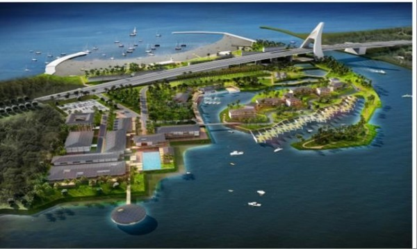 Cursory design for Club Med facilities in Dapeng Bay. (Image from Pen Bay International Ltd.)