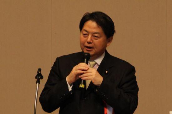 日本文部科學大臣林芳正(翻攝自林芳正臉書專頁)