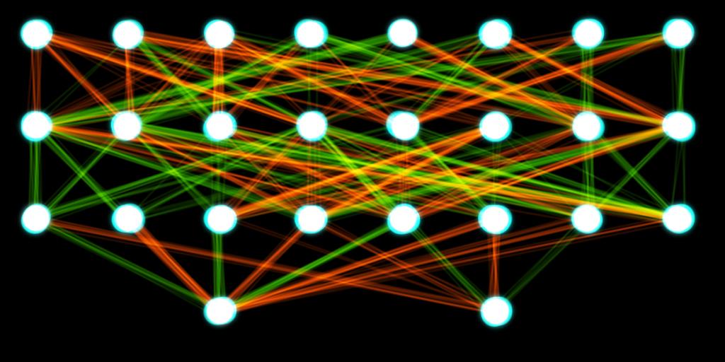 類神經網路,取自WIKI,CC4.0