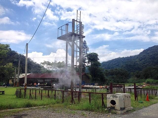 清水地熱發電廠地熱井