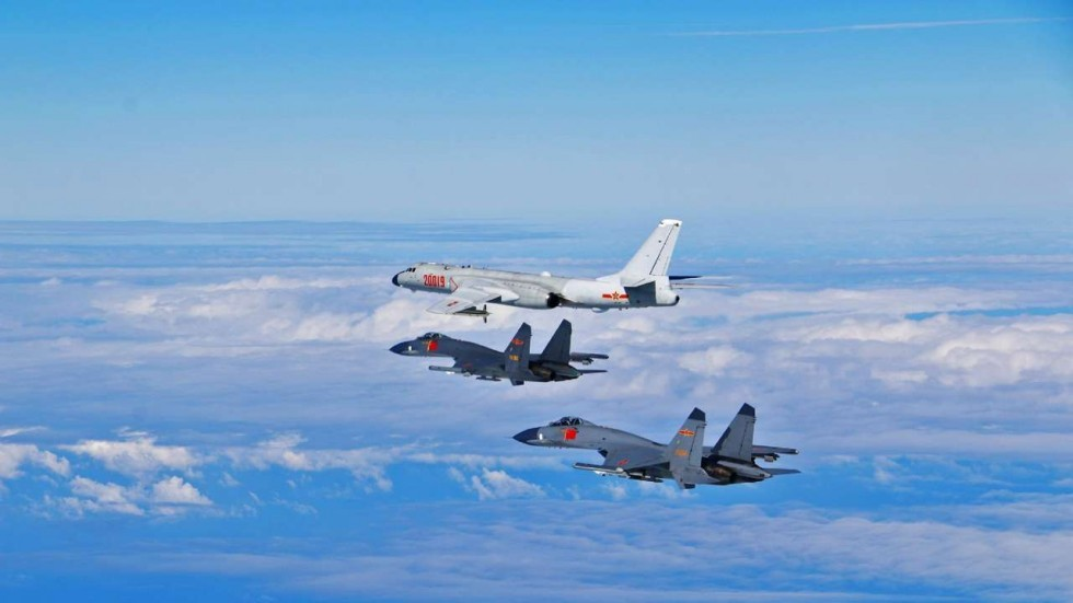 (File photo from Chinese Air Force)