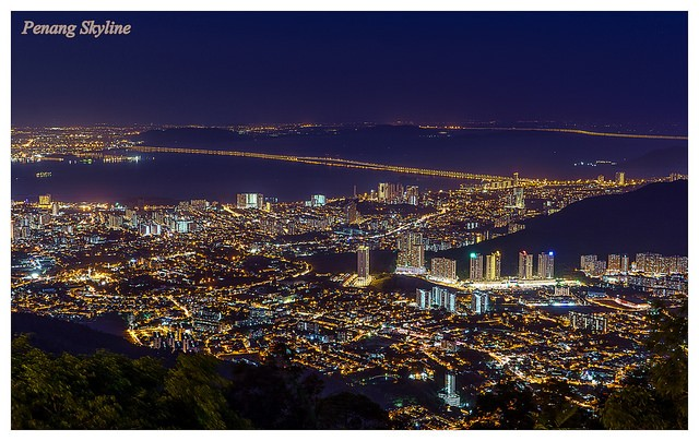 Georgetown skyline from Penang Hill (Image from Flickr user hams Nocete)