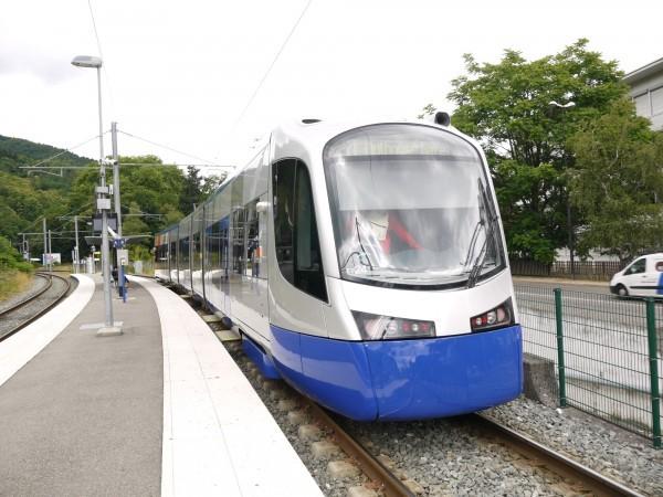 TRA Tram-train system (Image from Railway Reconstruction Bureau)