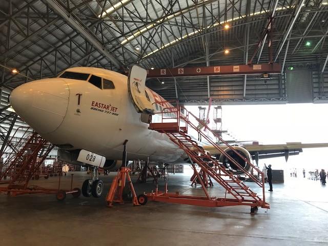 蔡英文:航太是有未來的產業