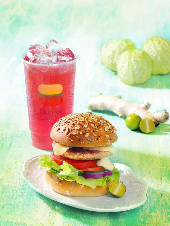 天成大飯店Burger Lab.漢堡研究室全新推出兩款創意漢堡