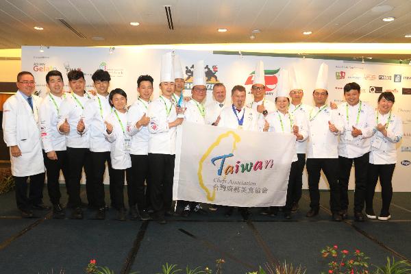 Taiwan wins national team culinary award in Singapore