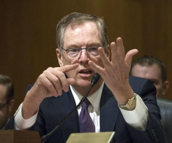 U.S. Trade Representative Robert Lighthizer.