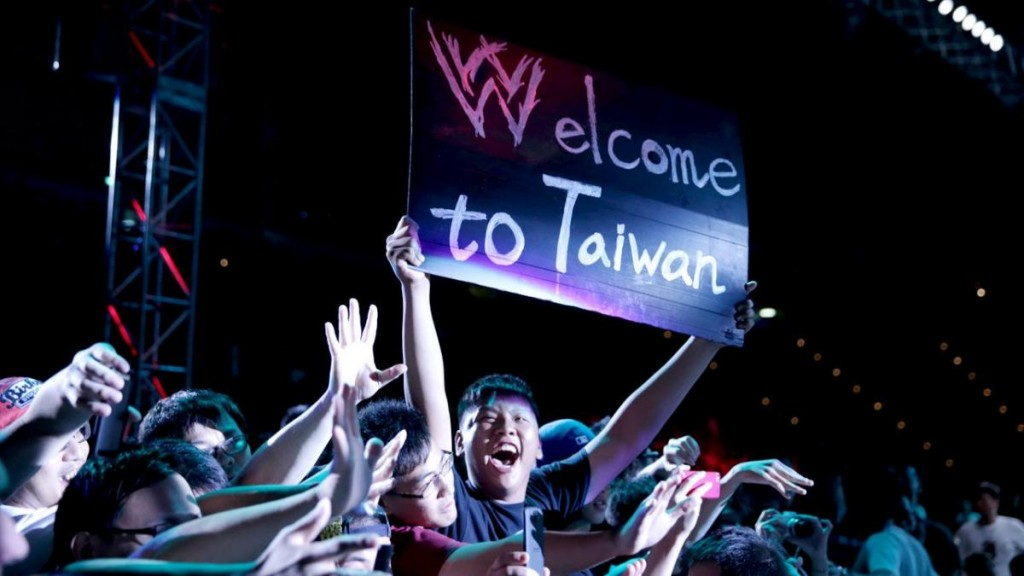 Photograph from 2013 WWE event at Linkou Stadium (Image from WWE)