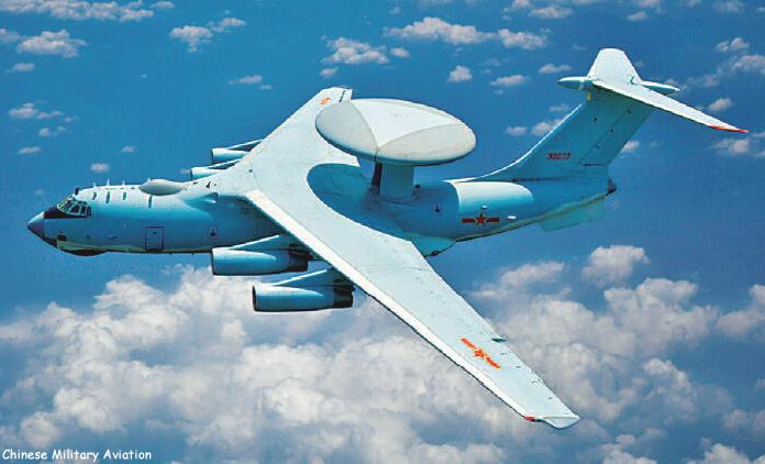 PLAAF K-6 2000 surveillance aircraft (Image from Chinese Military Aviation)