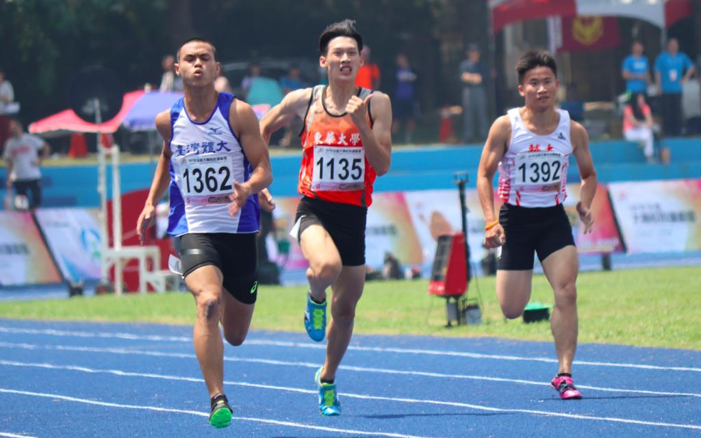 《全大運》預賽跑出10秒24 楊俊瀚望締造3連霸