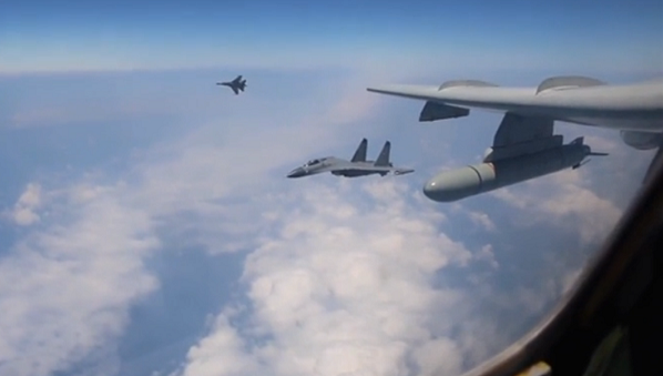 (Image still from the PLAAF promotional video)