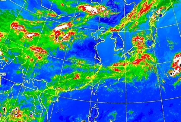 CWB satellite map.