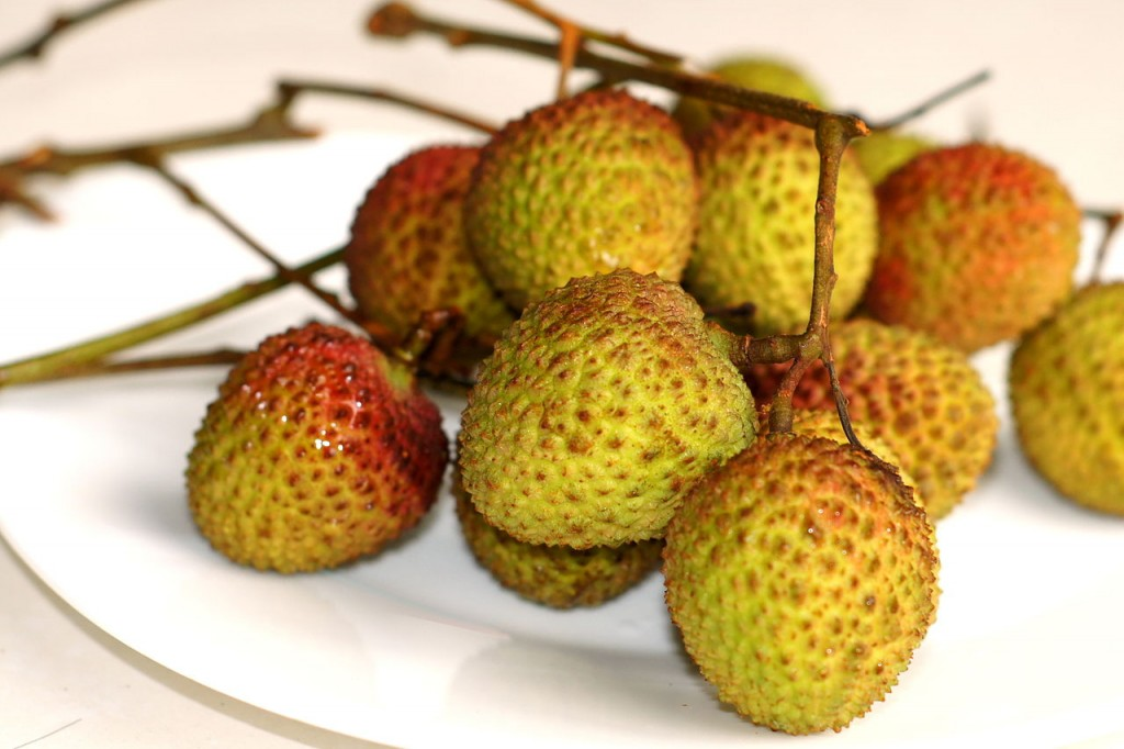 Jade purse lychees are a sweet Taiwan specialty.